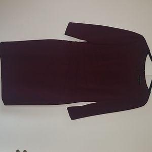 Antonio Melani burgundy dress